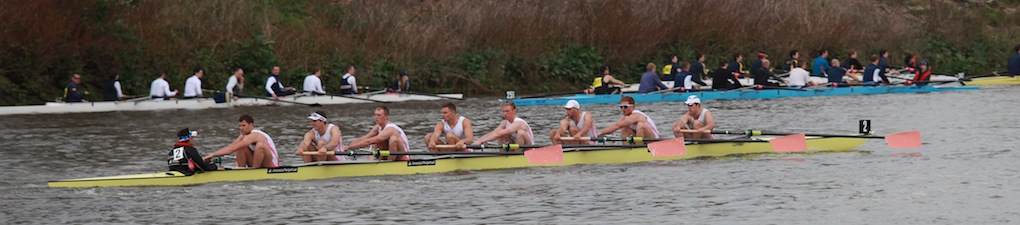 Leander I  just after the start of the 2011 Tideway Head